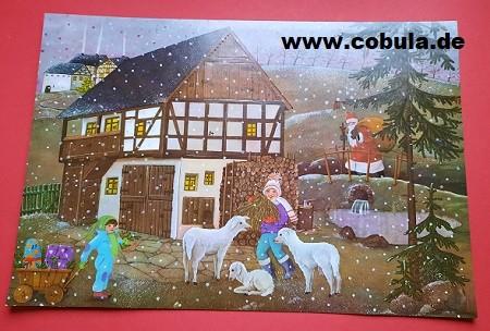 DDR Weihnachtskalender Vorweihnachtszeit