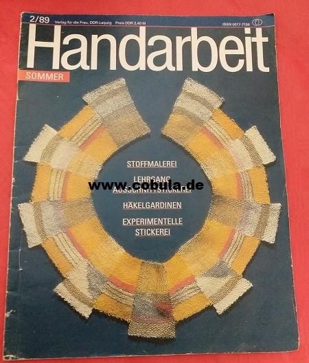 Handarbeit 02/89