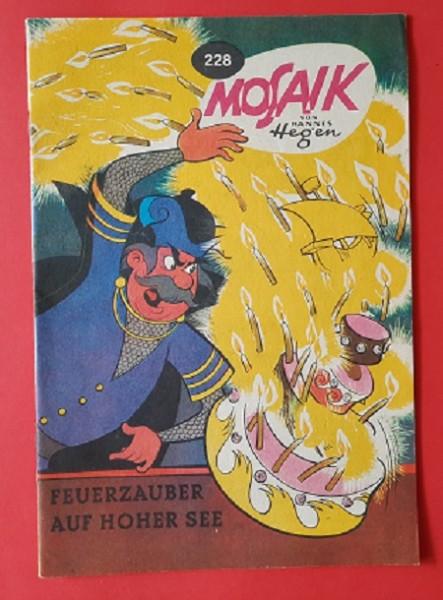 Digedags Heft Nr. 228 Feuerzauber auf hoher See