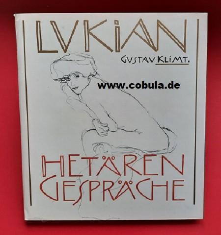 Hetärengespräche mit 15 Zeichnungen von Gustav Klimt