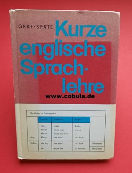 Kurze englische Sprachlehre