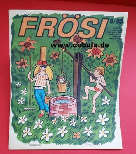 Frösi 8/83 DDR Pioniermagazin für Mädchen und Jungen