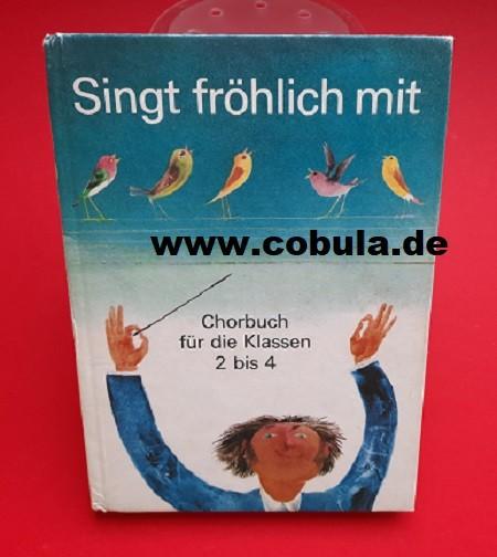 DDR Schulbuch Singt fröhlich mit