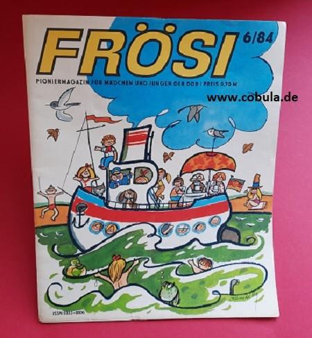 Frösi 6/84 DDR Pioniermagazin für Mädchen und Jungen