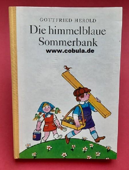 Die himmelblaue Sommerbank (ab 7 Jahre)
