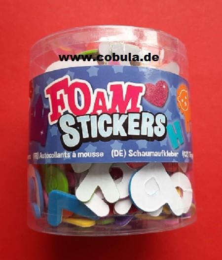 Moosgummi- und Schaumstoff Buchstaben und Zahlen (ab 3 Jahre)