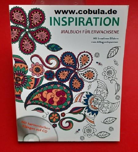 INSPIRATION Malbuch für Erwachsene