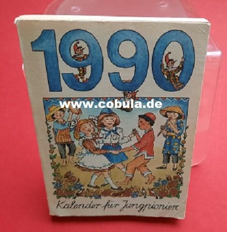 Kalender für Jungpioniere 1990 (ab 7 Jahre)