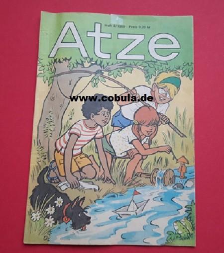 Atze 8/1989 DDR Kinderzeitschrift