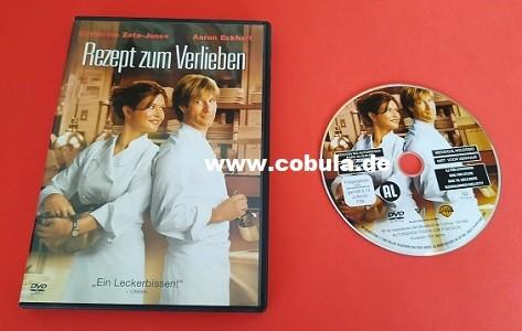 DVD Rezept zum Verlieben Catherine Zeta-Jones Aaron Eckhart