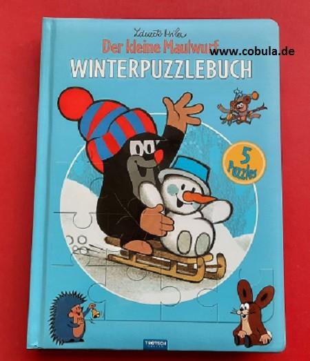 Winterpuzzlebuch Der kleine Maulwurf (ab 3 Jahre)