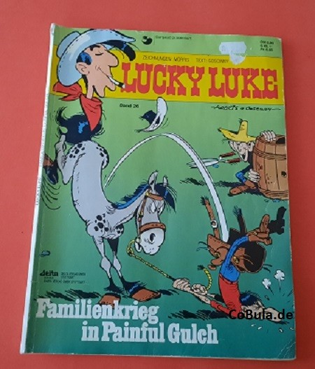 Lucky Luke Band 26 Familienkrieg in Painful Gulch