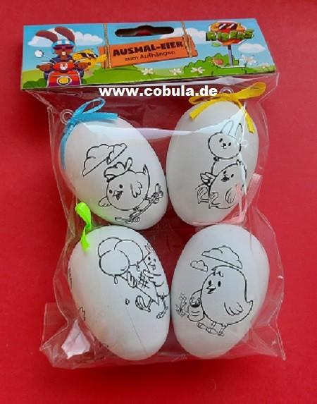 Ausmal-Eier zum Aufhängen Cool Riders (ab 3 Jahre)