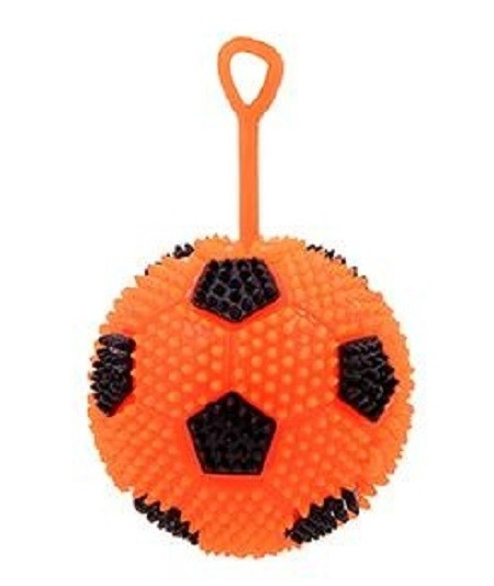 360° MOVE Light-Up Finger-Spielball 62mm Farbe Rot