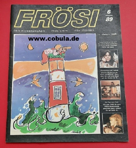 Frösi 6/89 DDR Pioniermagazin für Mädchen und Jungen
