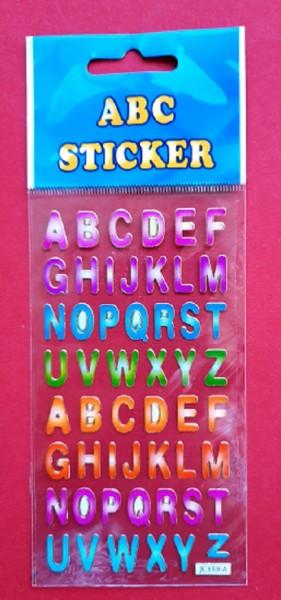 ABC- und Zahlensticker