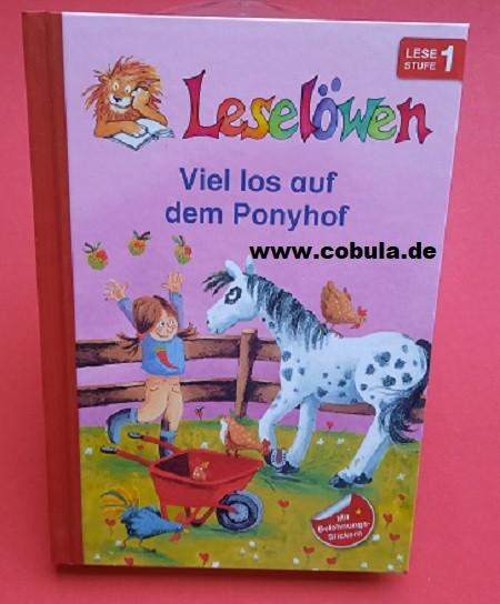 Leselöwen Viel los auf dem Ponyhof (ab 5 Jahre)