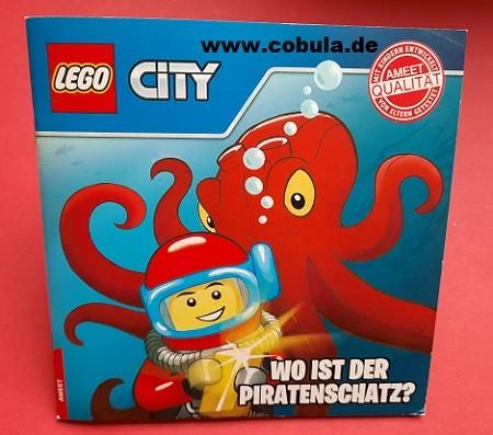 LEGO CITY Wo ist der Piratenschatz?